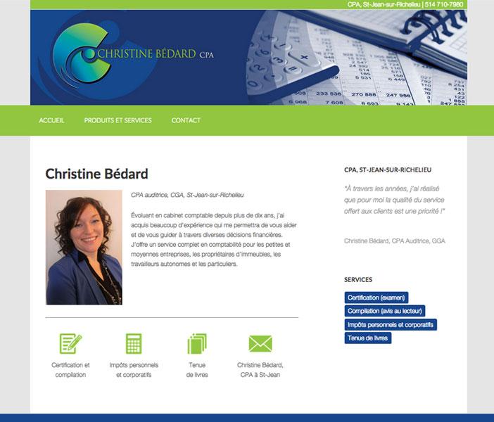 Christine Bédard, CPA