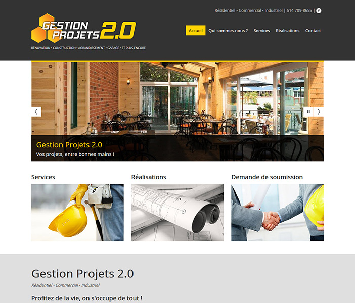 Gestion projets 2.0