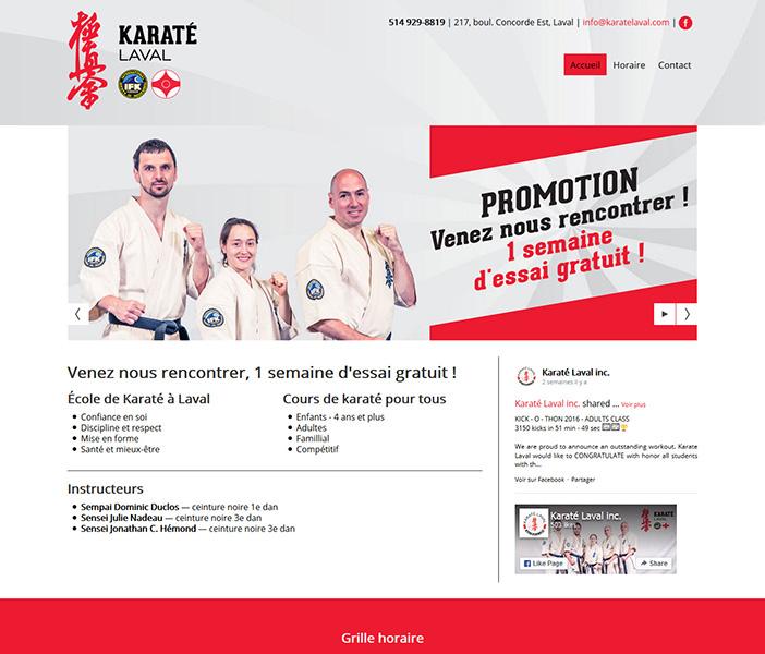 Karaté Laval